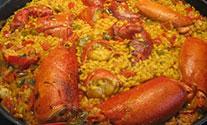 arroz con lubrigante
